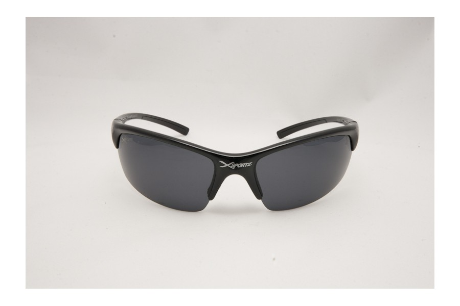 XXX - Black Mens Polarised Sports Sunglasses