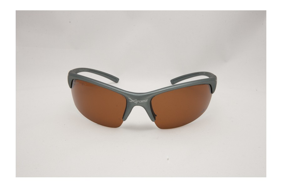 XXX - Black Orange Mens Polarised Sport Sunglasses