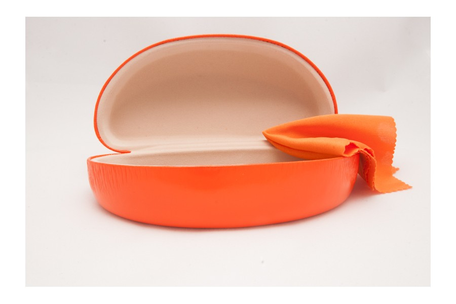 Orange Sunglasses Hard Case