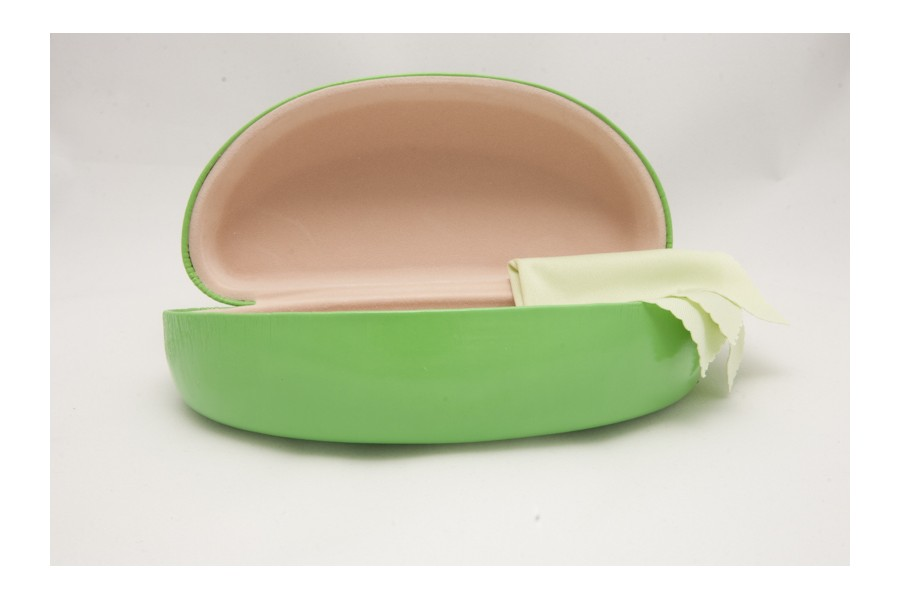 Green Sunglasses Hard Case