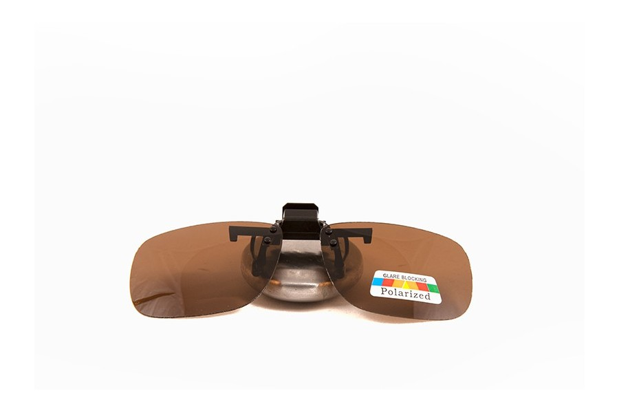 Mr Miyagi – Polarised Clip on brown for wayfarers style