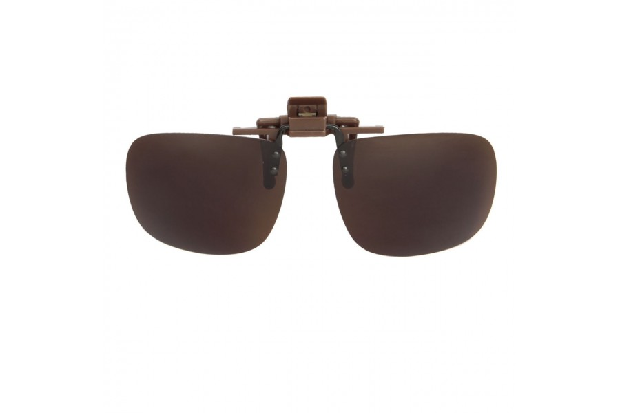 Mr Miyagi – Polarised Clip on Brown for Aviators