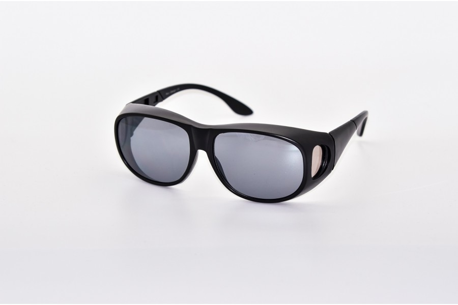 Fitover glasses large - Black Matte