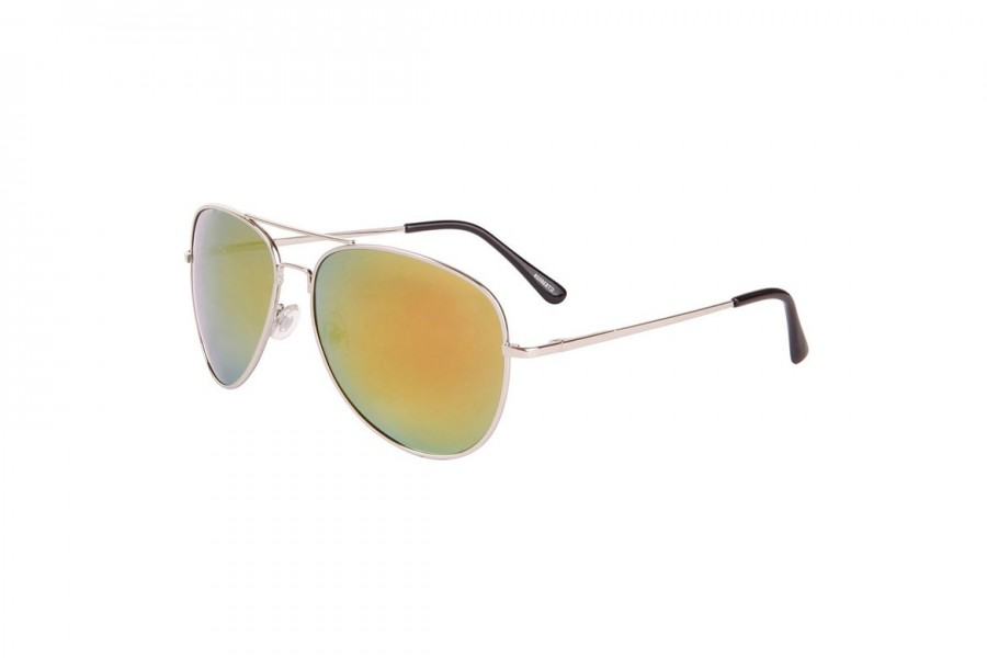 Aviator Revo Polarised - Red/Yellow Silver