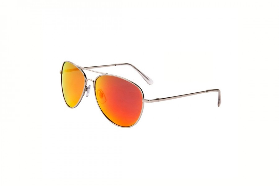 Iceman - Burnt Orange Aviators