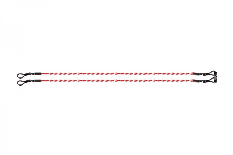 Sunglasses Strap - Braided Red