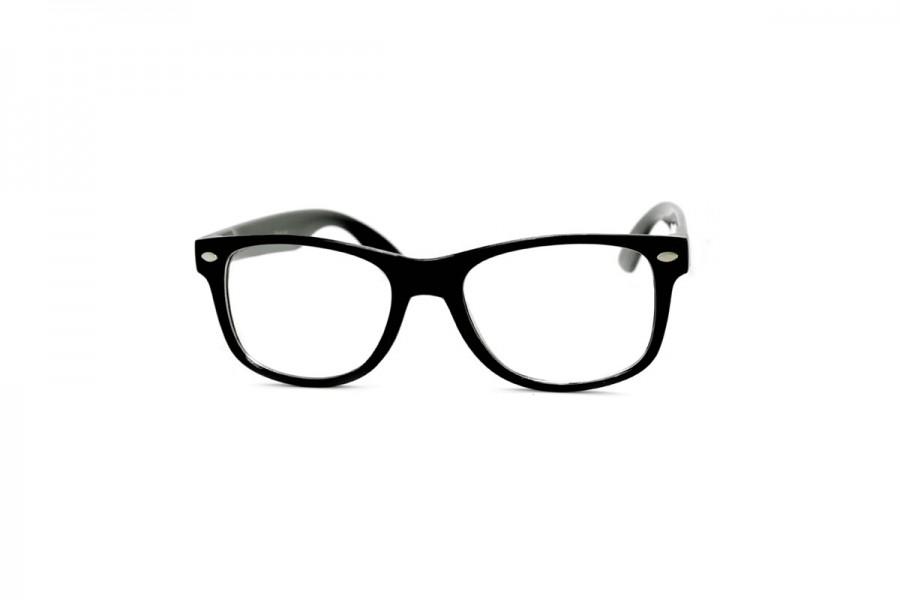 Clarke Kent - Black Clear lens