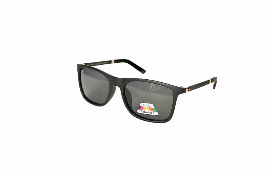 Hardy - Black Polarised Sunglasses