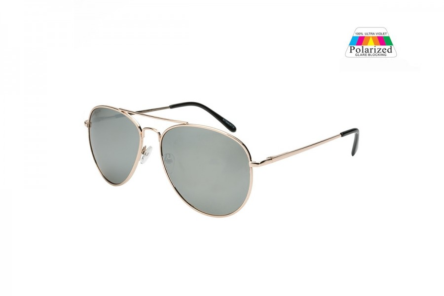 Pilot Aviator - Gold Mirror - Polarised