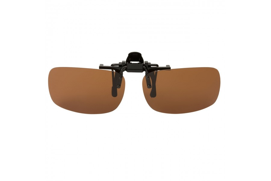 Priestly – Aviator Clip On Brown