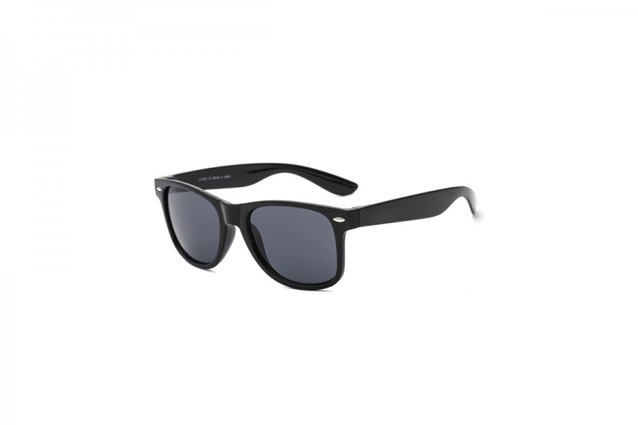 Jack - Black Wayfarer Polarised Classic Sunglasses