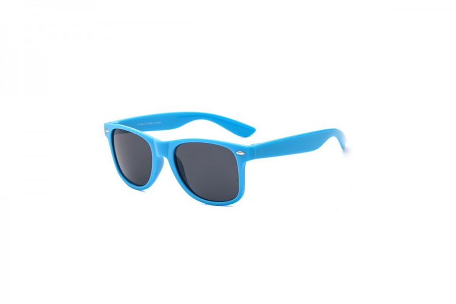 Hollywood - Blue Wayfarer Sunglasses