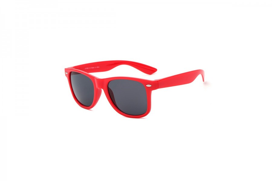 Hollywood - Red Wayfarer Sunglasses
