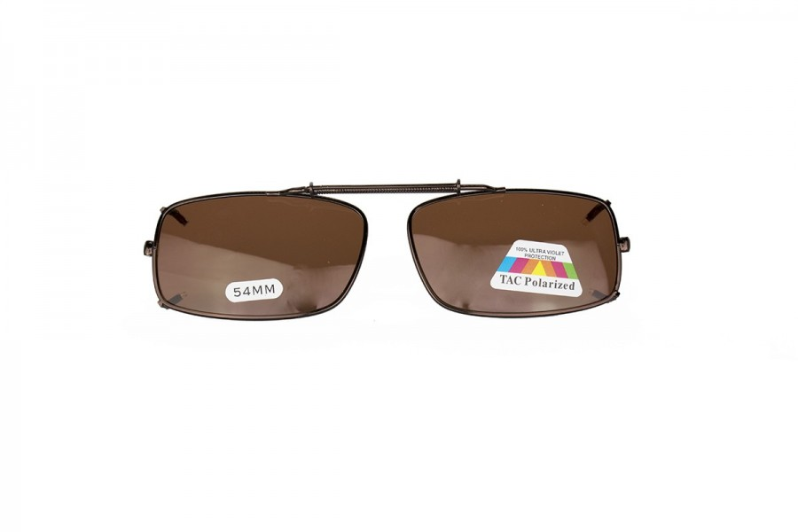 Enrique - Polarised Clip on Spring - Brown