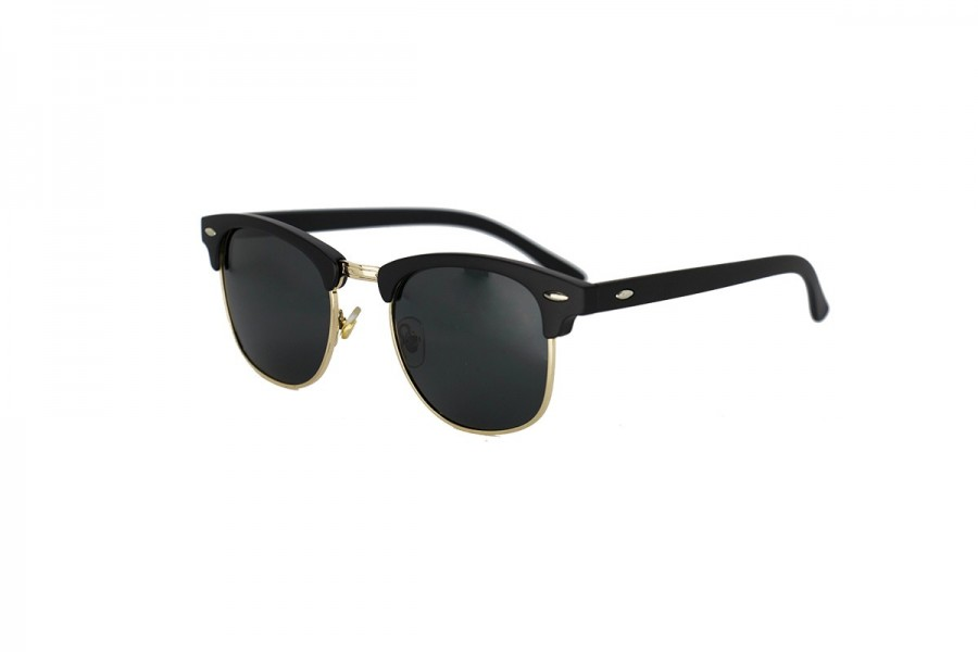 Don Draper - Gold Retro Polarised Sunglasses