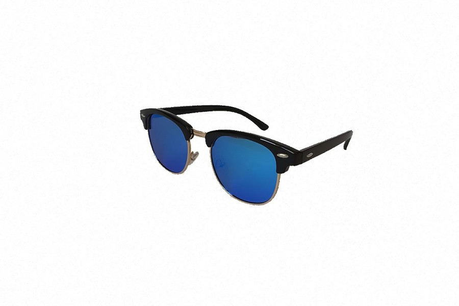 Don Draper - Blue Polarised Retro Sunglasses