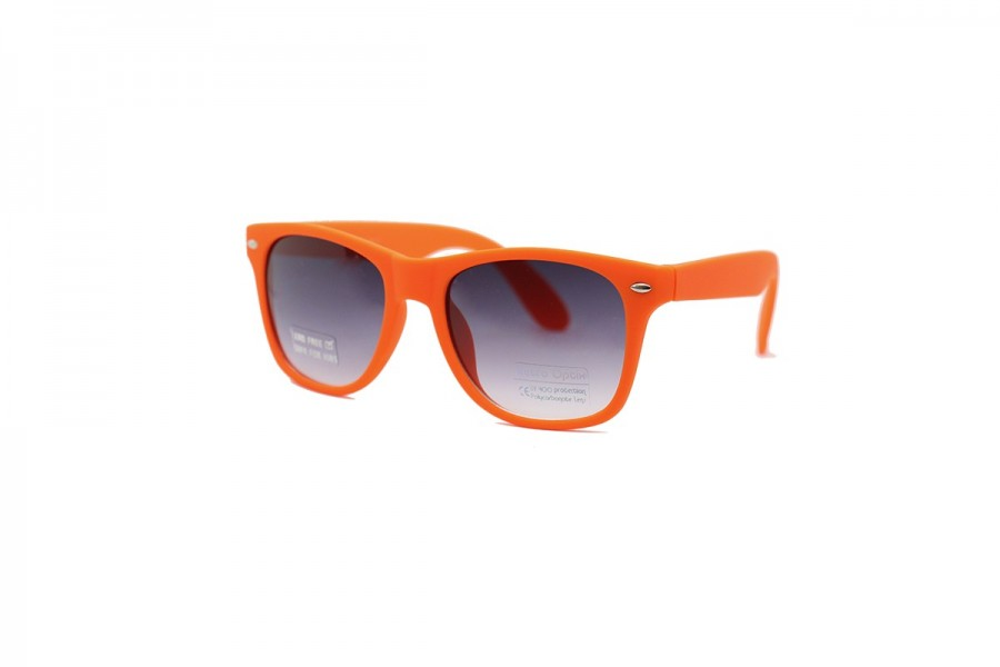 Frankie - Matte Orange Kids Sunglasses