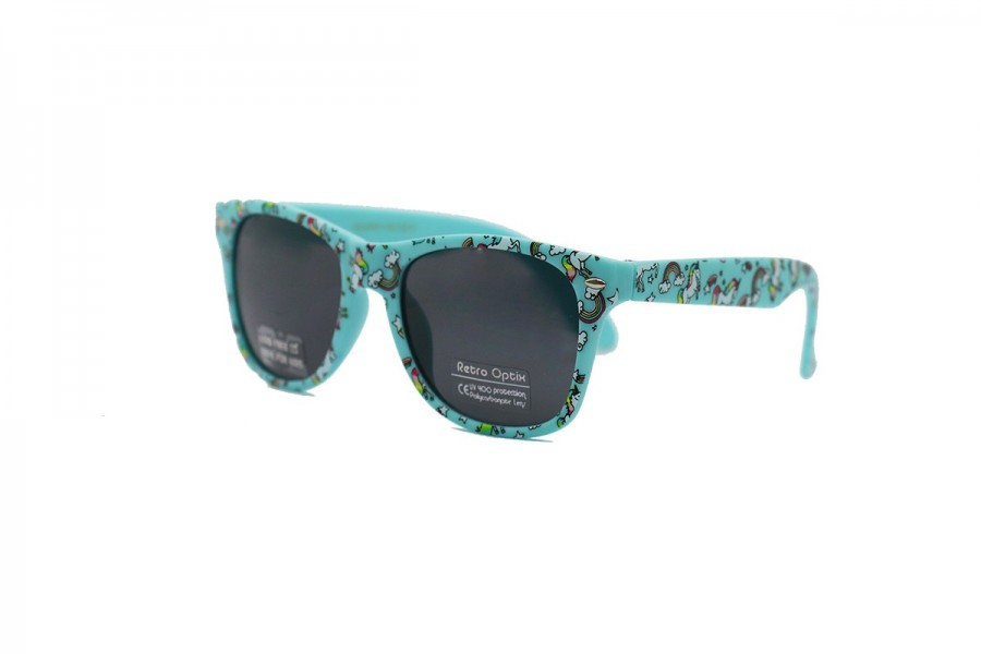 Twilight Unicorn Kids Sunglasses - Blue