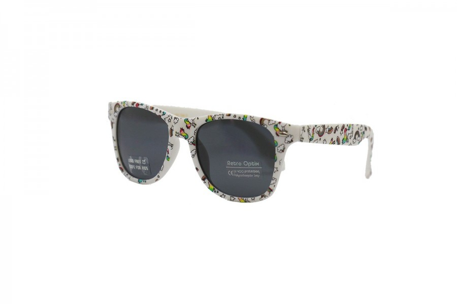 Twilight Unicorn - Kids Sunglasses White