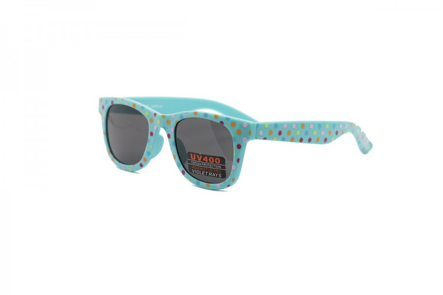 Boss Baby - Aqua Polka Dot Baby Sunglasses