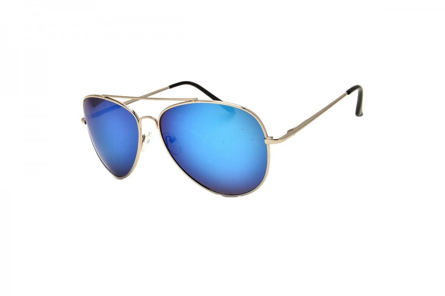 Sky Blue Mirror Aviator Polarised