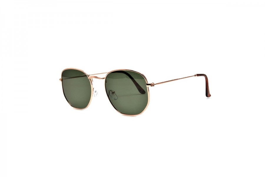 Drew - Gold Polarised Sunglasses