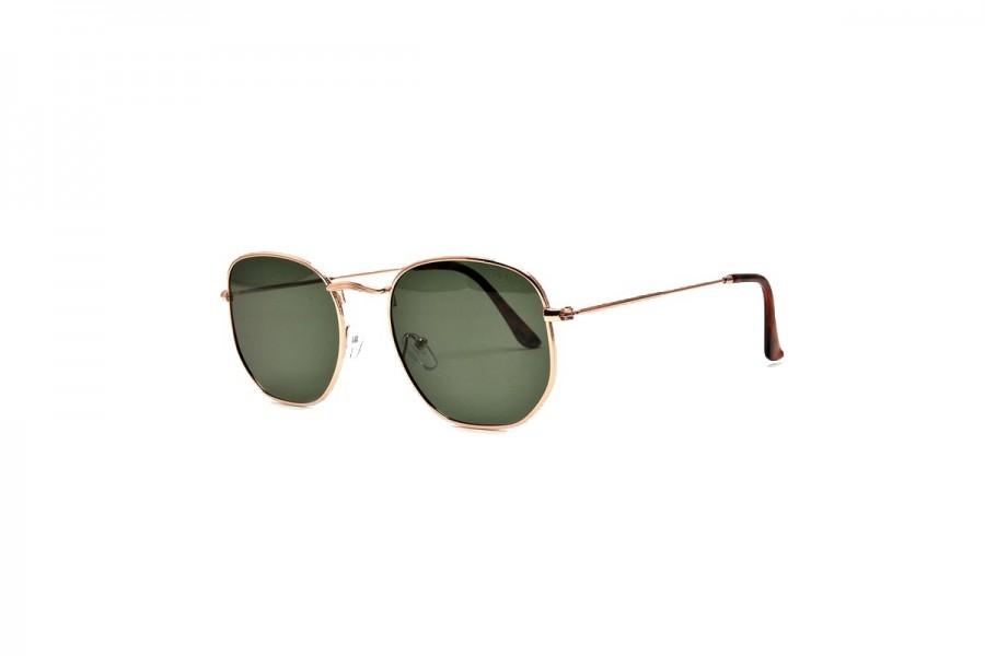 Drew - Gold Polarised Sunglasses