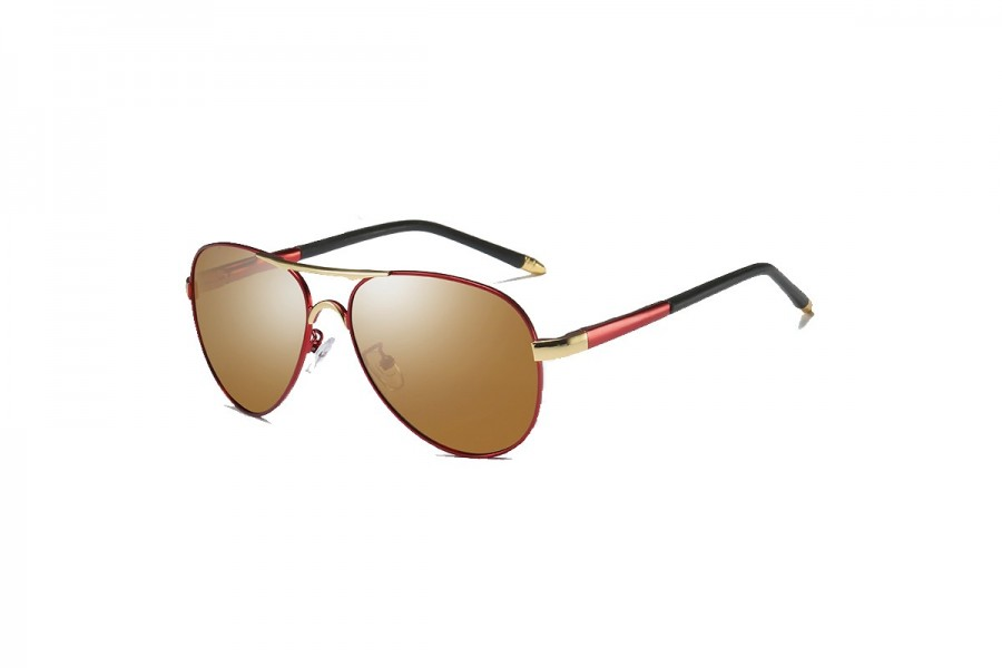Cogan - Premium Red Polarised Aviators