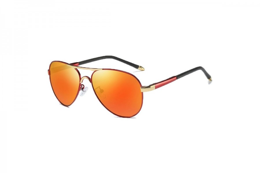 Cogan - Premium Red RV Polarised Aviators