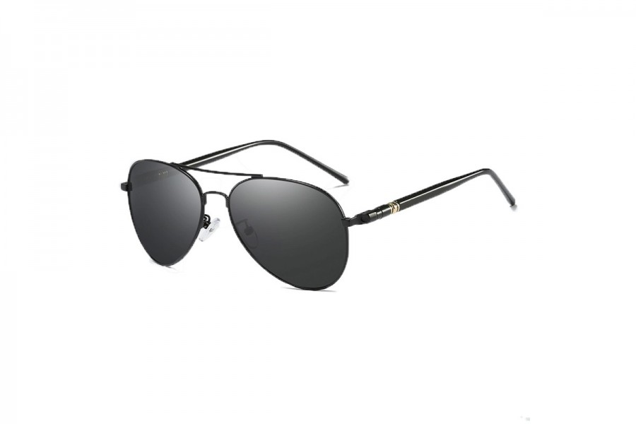 Franco Black - Premium Polarised Aviators