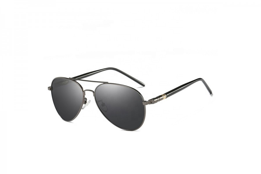 Franco Gun Grey - Premium Polarised Aviators